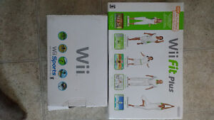 Wii Fit Plus and Wii Sports