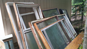 Windows for greenhouse