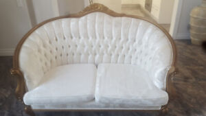 3 piece French Provincial Sofa set for sale.