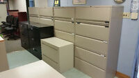 Filing Cabinets - 2, 3, 4, 5 door - Black - Beige - Grey