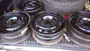 Mazda 3 steel rims Cambridge Kitchener Area image 2