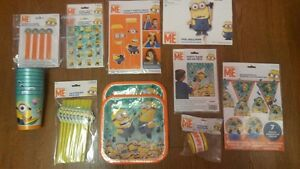 Despicable Me/Minions party supplies NEW Stratford Kitchener Area image 1
