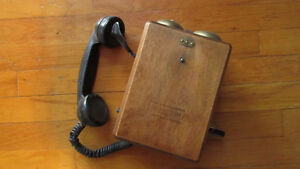 Very old telephone by Northern Electric