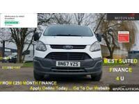 2017 Ford Transit Custom 2.0 290 L1H1 1 OWNER, FSH , 54K Mi, EU 6, 1 OWNER , FSH