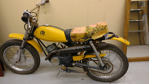 Rare 1970 Rockford Tora project mini bike