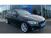 2017 BMW 1 Series 118D M SPORT, UPGRADED WHEELS, FULL SERVICE HISTORY, AUTO HEA