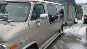 Just in Time For Camping - 1994 Chevrolet Camper Van