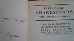 The Complete Works of William Shakespeare, 1961 Kitchener / Waterloo Kitchener Area image 3