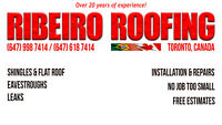 THE BEST JOB FOR THE BEST PRICE - RIBEIRO ROOFING