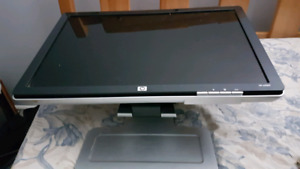 "Hp computer monitor, 22"", asking $80"