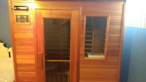 Sauna en cèdre