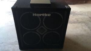 Hartke 4×10 bass cab