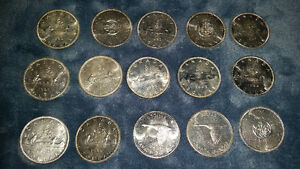 SILVER DOLLARS.. in excellent condition absolutely stunning.....
