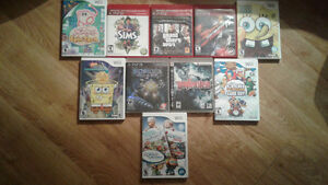 SELLING PLAYSTATION 3 GAMES AND WII GAMES + A GAMEBOY