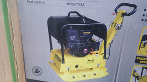 new in box Loncin ms 330e Reversible Plate Compactor