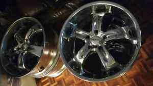 22' BOSS Chrome Motorsport Rims