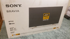 "Sony 65"" 4K UHD HDR LED Android Smart TV XBR65X850F - Brand New"