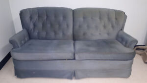 Couch and hide a bed