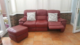 3 setter plus chair and leg rest