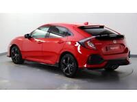 2017 Honda Civic 1.5 VTEC TURBO Sport Petrol red Manual
