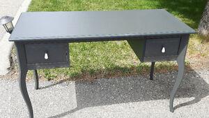 Grey vanity/desk