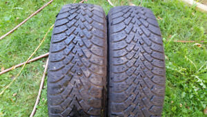 TWO 215 55 17 GOODYEAR NORDIC WINTERS