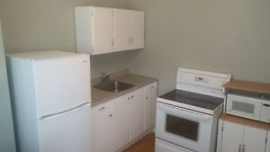 Available July 1st. Downtown 1 bedroom apartment.