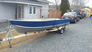 Princecraft Boat Motor and Trailer for Sale