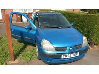Renault Clio 1.2 16v 12 months mot