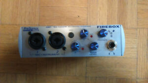 Presonus Firebox interface
