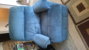 Love seat and rocker