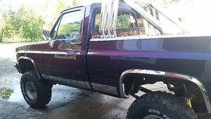Lifted square body shortbox