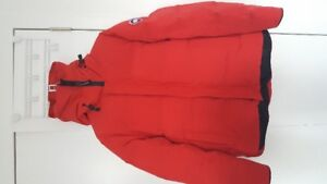 Canada Goose Winter Jacket - red- large