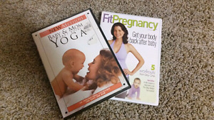 Baby & Mom Yoga / Fit Pregnancy Workout DVDs