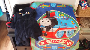 Thomas blanket and house coat