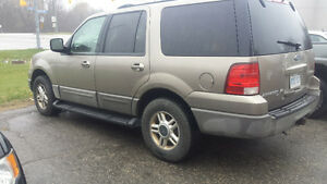 2003 Ford Expedition xlt SUV, Crossover Kitchener / Waterloo Kitchener Area image 1