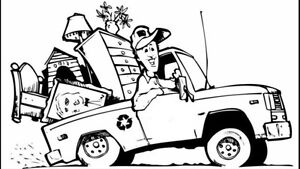 Red Deer's Most Inexpensive Junk Removal!