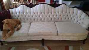 Beautiful vintage style couch , matching chair and love seat