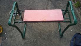 fold chair /garden kneeling stool