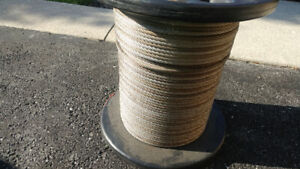 For Sale!!! 5/16 Diameter S.S. Cable!!