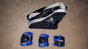 Complete CCM Roller Blade kit for young girl (size 2-3)