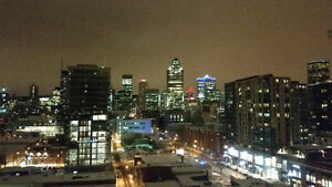 Amazing view of Downtown and all included 2BR(4 1/2) Griffintown