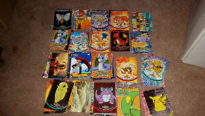 Pokemon and Digimon Cards