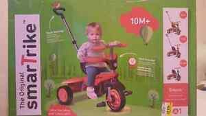 New Original 3 in 1 Smart Trike Breeze- Red/Black