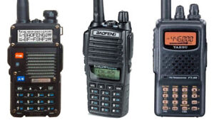 Looking for a used VHF handheld transceiver