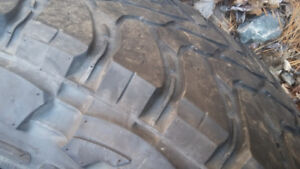 35x12.50 r20 two worn two have some rubber