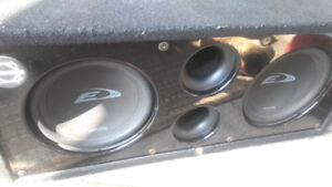2 10 inch alpine subs for sale