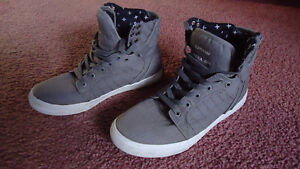 Supra Muska Sneakers Youth    Size 9 NEW