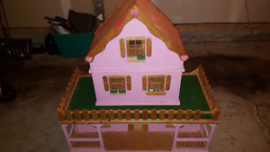 Giant Wooden Doll House