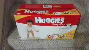 HUGGIES DIAPERS SIZE #6